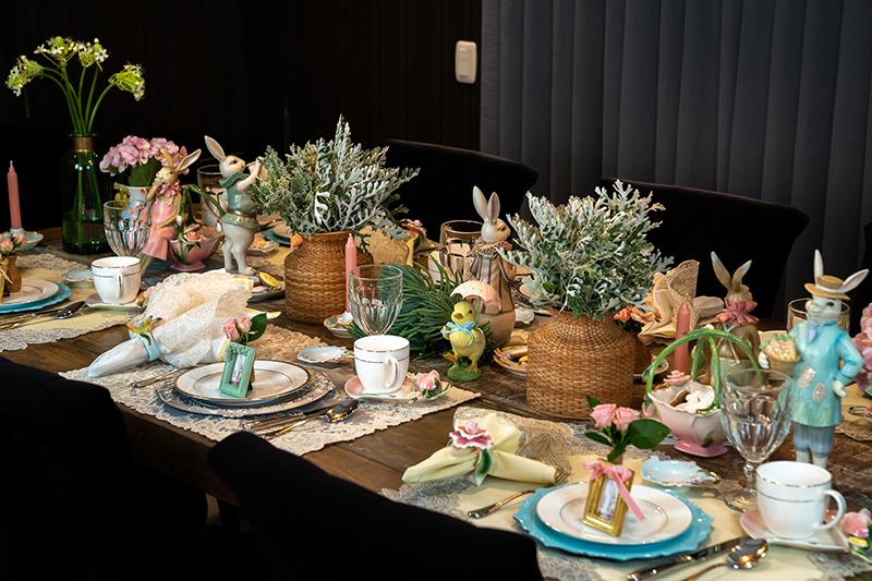 A mesa posta de Páscoa que você vai amar